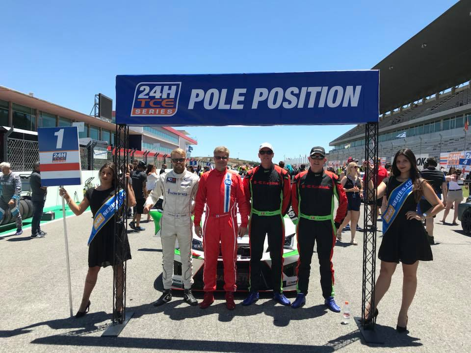 Pole Postion voor Bas Koeten Racing bij 24h series Portimao